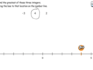 6.NS.7a practice problems exploring inequality statements