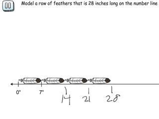 6.RP.3a practice problems finding lengths