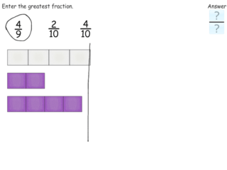 Ordering fractions practice problems