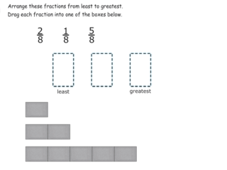3.NF.3d practice problems review ordering with common denominators