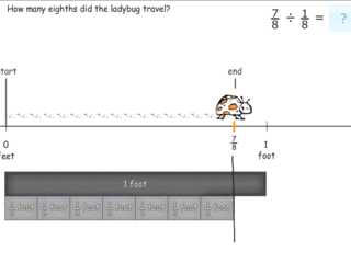 6.NS.1 practice problems division with fractions in context
