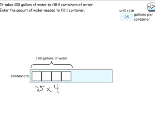 6.RP.2 practice problems finding unit rates
