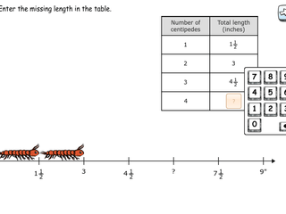 6.RP.3a practice problems ratio tables and the number line