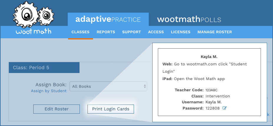 Woot Math - Getting Started