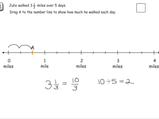 6.NS.1 practice problems mixed numbers divided by whole numbers