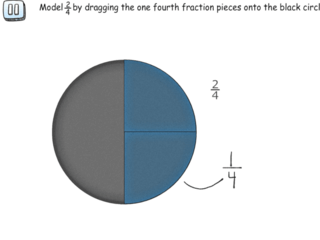 Modeling fractions with circles practice problems